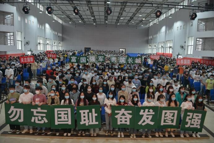 """湖南机电职院多途径开展""""全民国防教育日""""宣传活动"""