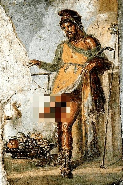 希腊的生殖之神普利阿普斯