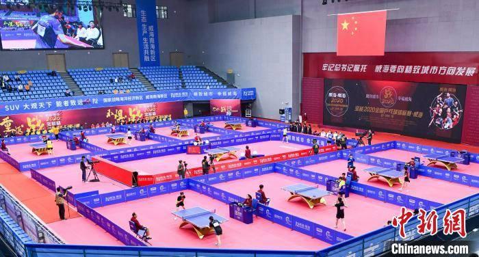 2020全国乒乓球锦标赛在威海开赛 马龙等众名将参赛
