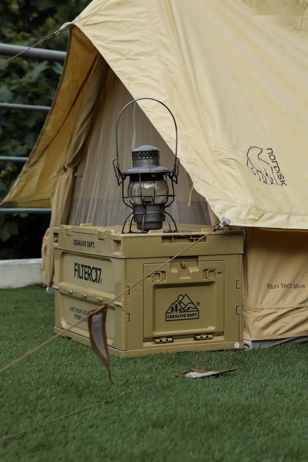 就近露营,在 NOWRE 公司楼顶扎营是什么体验?