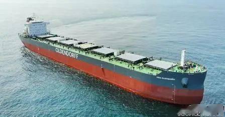 再交付一艘82000吨的散货船!安徽科技今