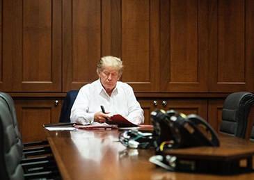 白宫幕僚长:特朗普可能今天就能返回白宫