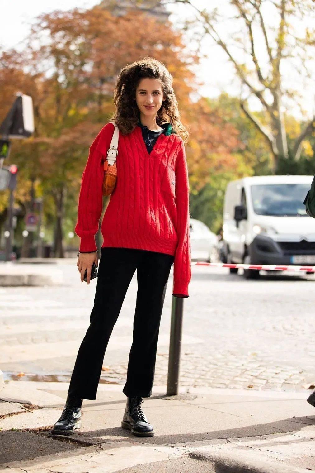 马丁靴+裙子,马丁靴+工装裤……又酷又撩,时髦炸了!     第44张