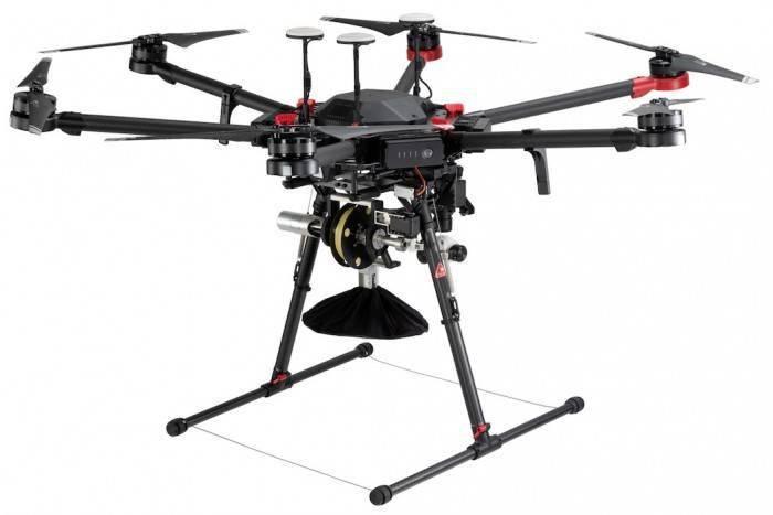 美国创企开发无人机投递系统 从150英尺高空投递包裹
