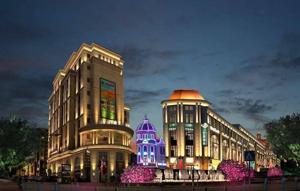 城阳区城市照明三期工程正式点亮! 城阳区新城