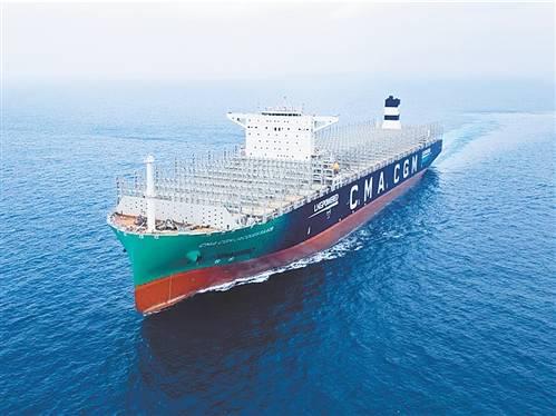 DOTA2比赛竞猜:中国船:交付双燃料动力集装箱船