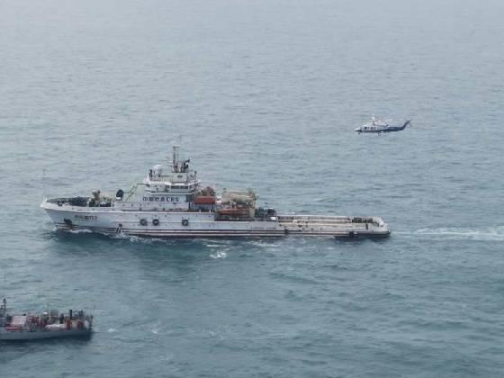 亚博体彩平台:阳江渔船在川岛南遇险续:南航导航直升机紧急升空救援