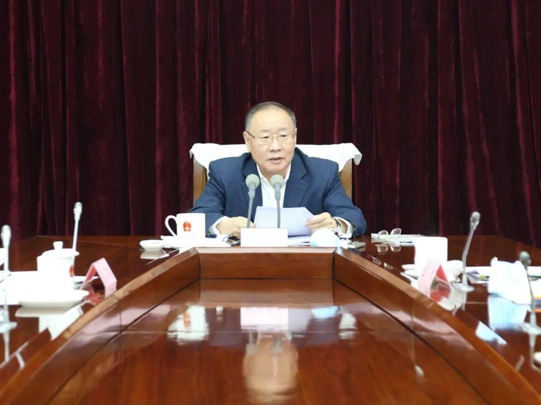 自治区人大常委会召开第49次党组会议