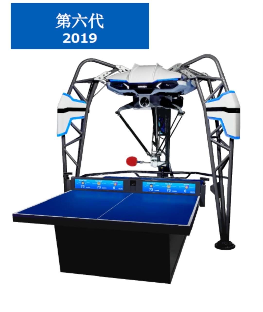 这款乒乓机器人能感知你的注意力、测量球的旋转,想过招吗?