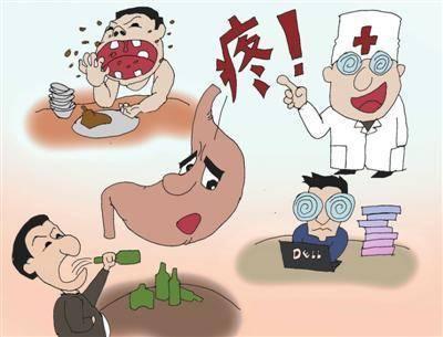 饮食与慢性胃病密切相关