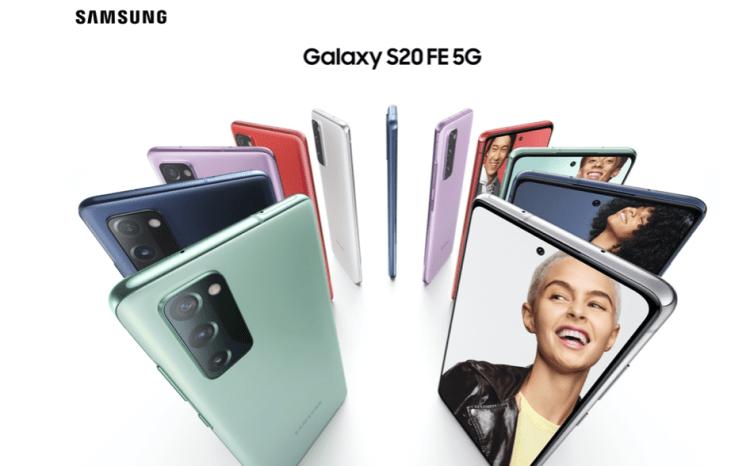 三星Galaxy S20 FE 5G正式在国内发布,定价4999元起