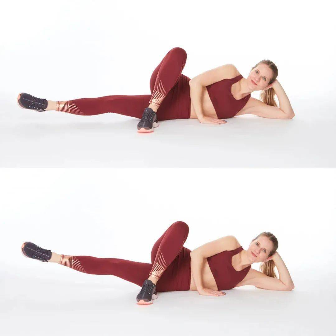 练瑜伽,女生一定要多练内收肌,真的很重要!_动作