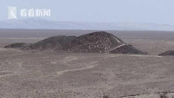 """山上有只37米长的""""猫""""!秘鲁纳斯卡发现新地画"""