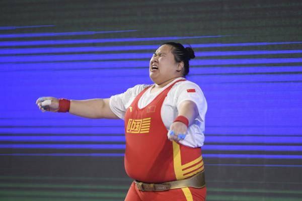 全国女子举重锦标赛:李雯雯夺得87公斤以上级A组冠军