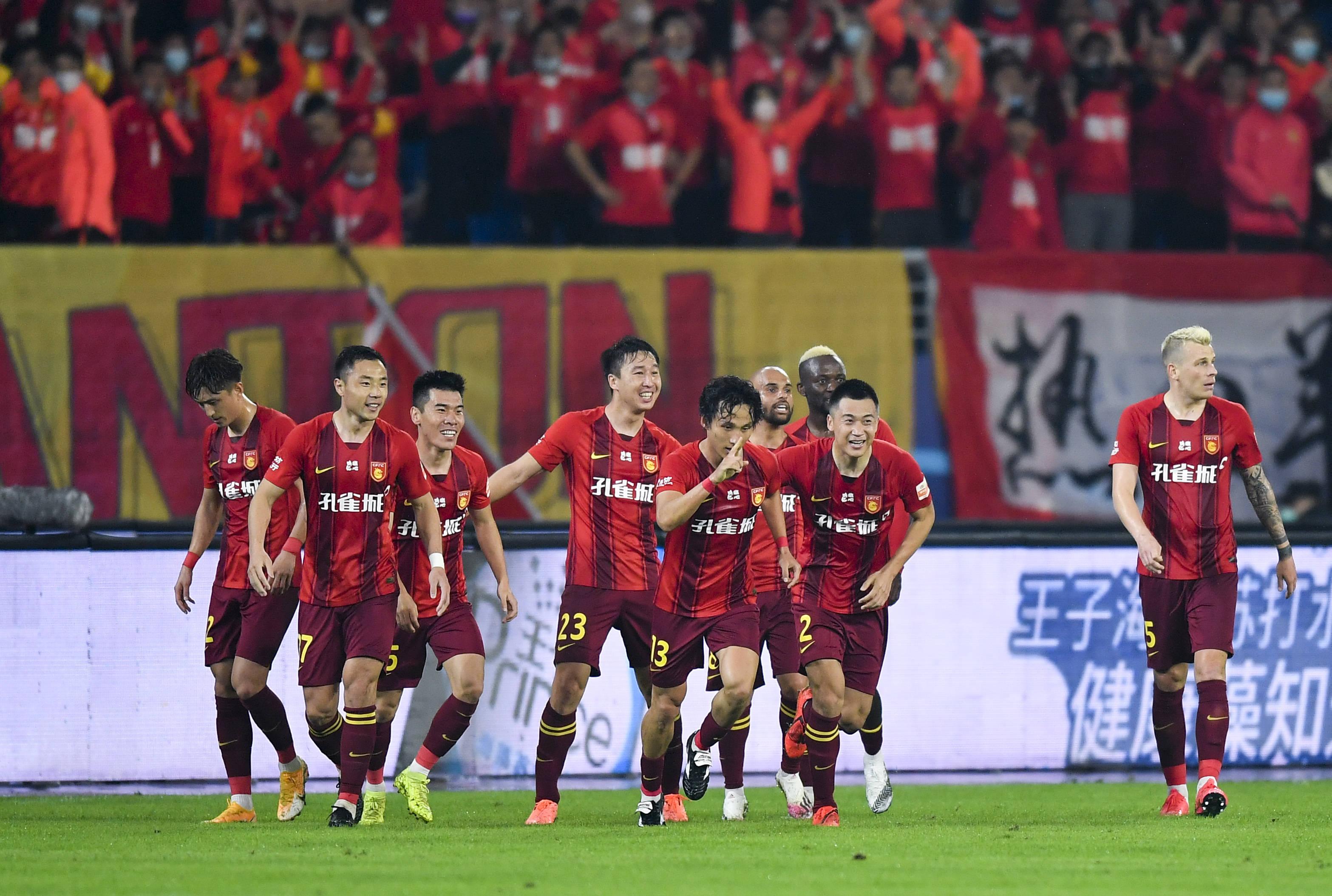 足球——2020中超联赛第15轮集锦