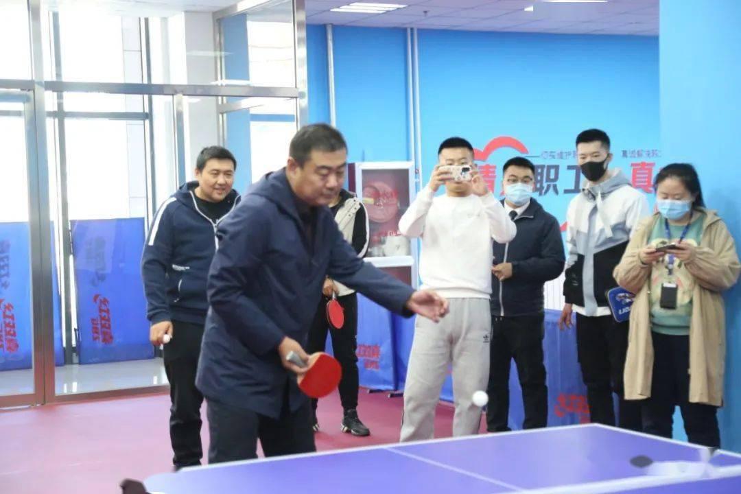 """公司第一届""""地铁杯""""职工乒乓球比赛圆满完成"""