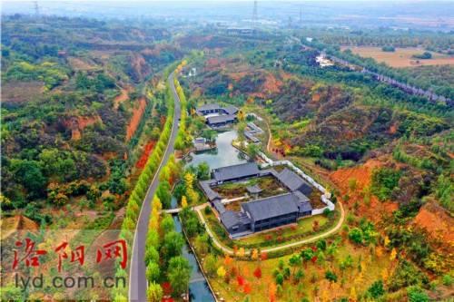 孟津龙泉谷湿地公园:沟域里的秋韵