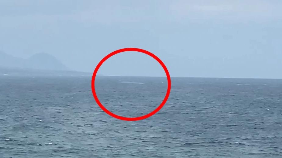 台军一架战斗机坠海,飞行员已获救