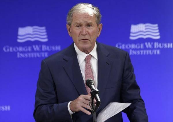 """小布什""""祝贺拜登胜选"""":政见不同,但会提供力所能及的帮助"""