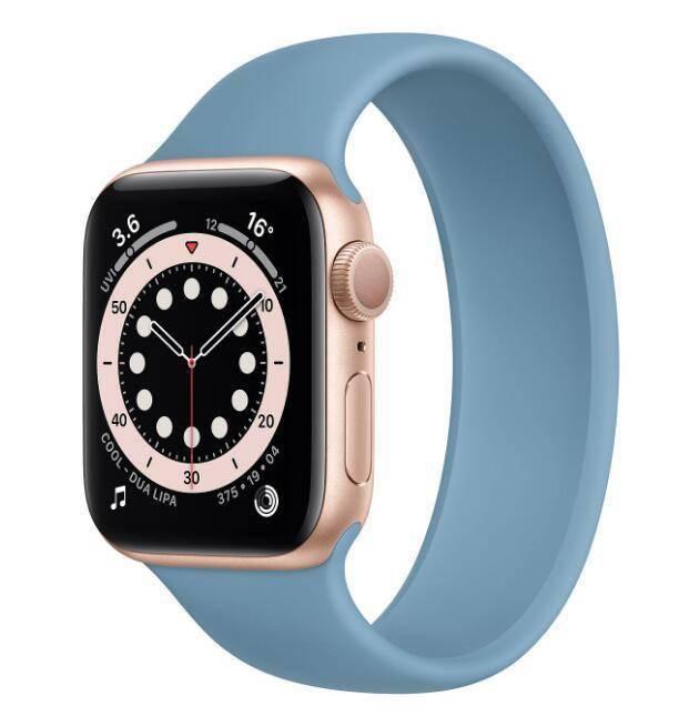 苹果 Apple Watch 单圈和运动表带推出三种新配色