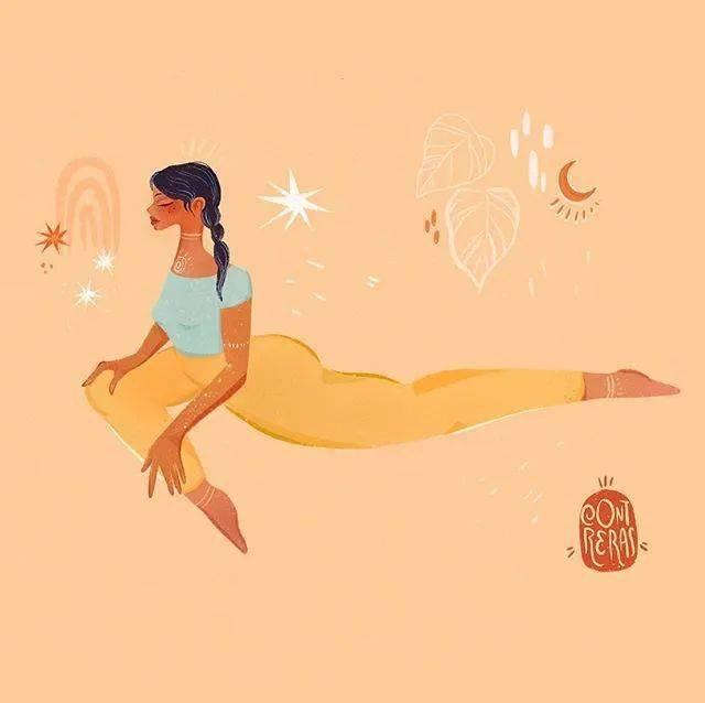 真实的瑜伽VS你认为的瑜伽,别再瞎练了
