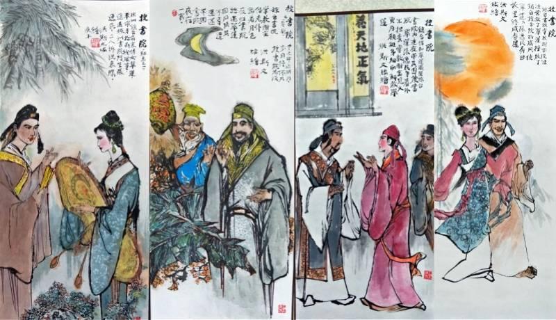 """""""广东连环画之父""""开展,换种方式再现粤剧经典《搜书院》"""