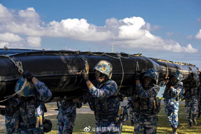 海军陆战队硬核训练日常