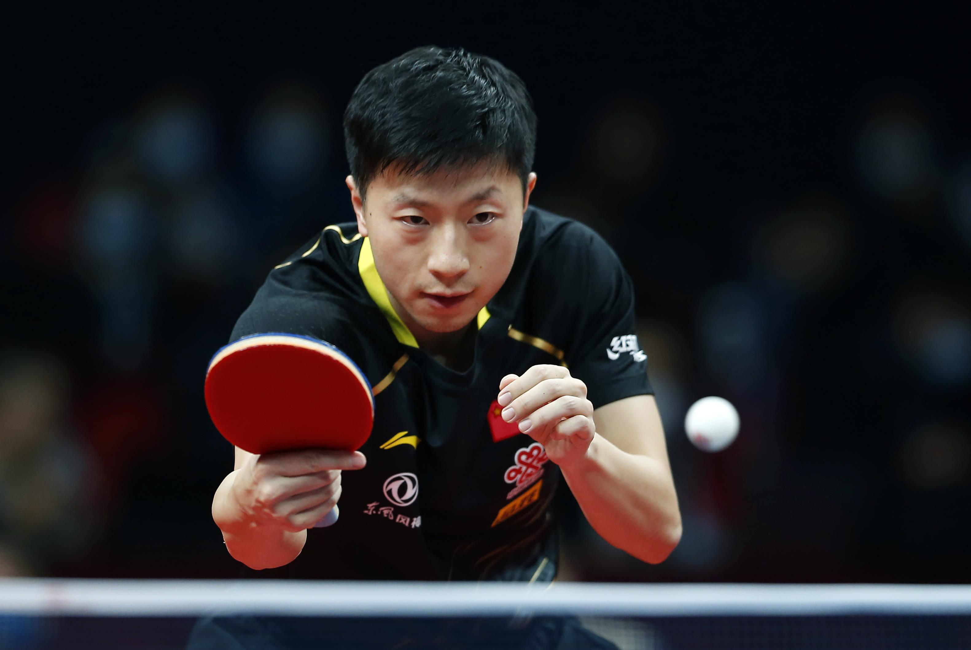 乒乓球——国际乒联总决赛男单决赛:樊振东对阵马龙