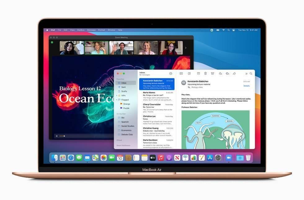 搭载全新 M1 ,苹果 MacBook Air 再次成为衡量其他笔记本标杆