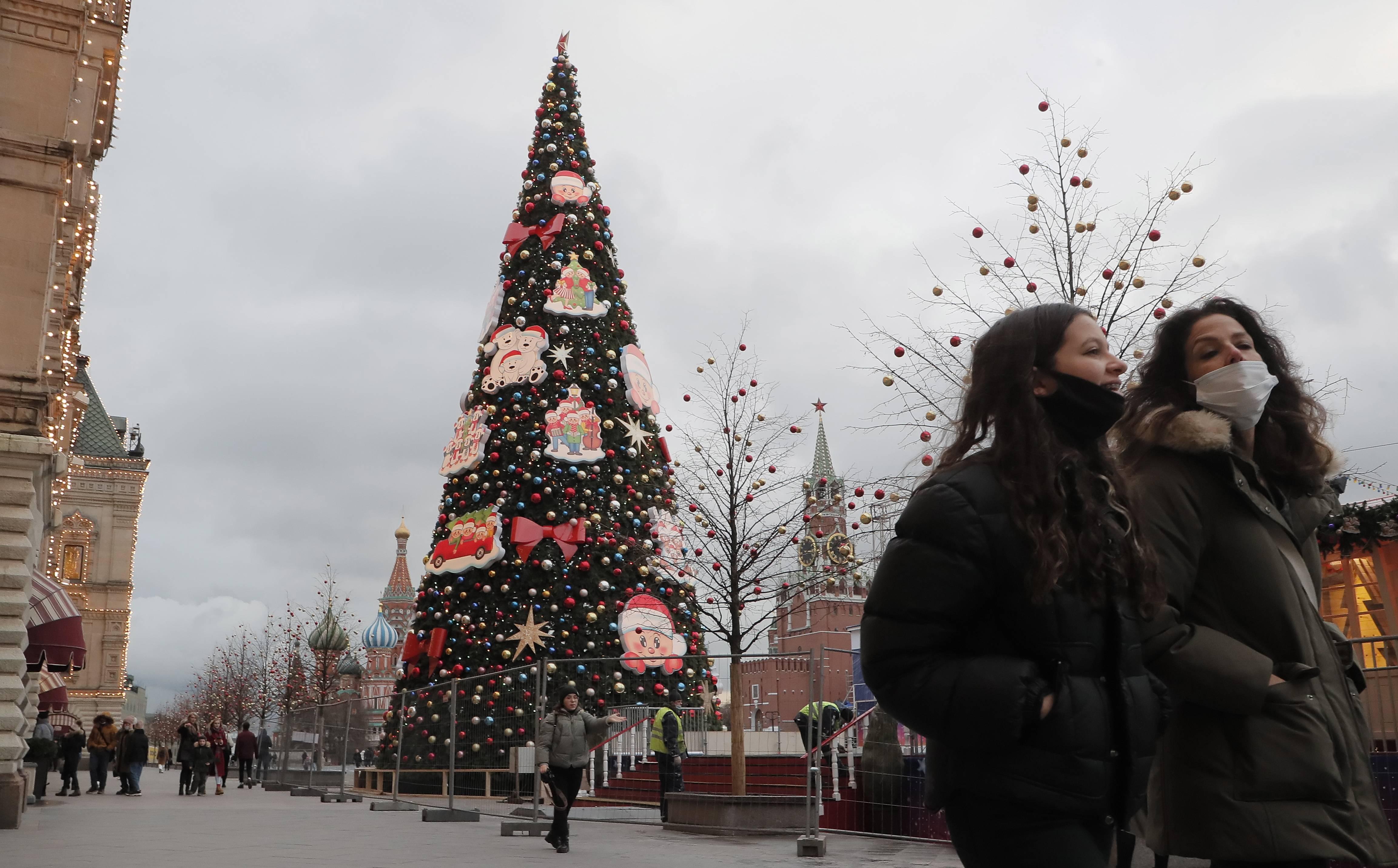 俄罗斯新年气氛渐浓