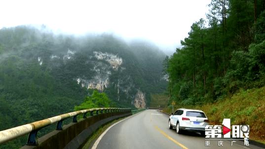 涪陵武陵山:云雾绕山间 飘渺似仙境