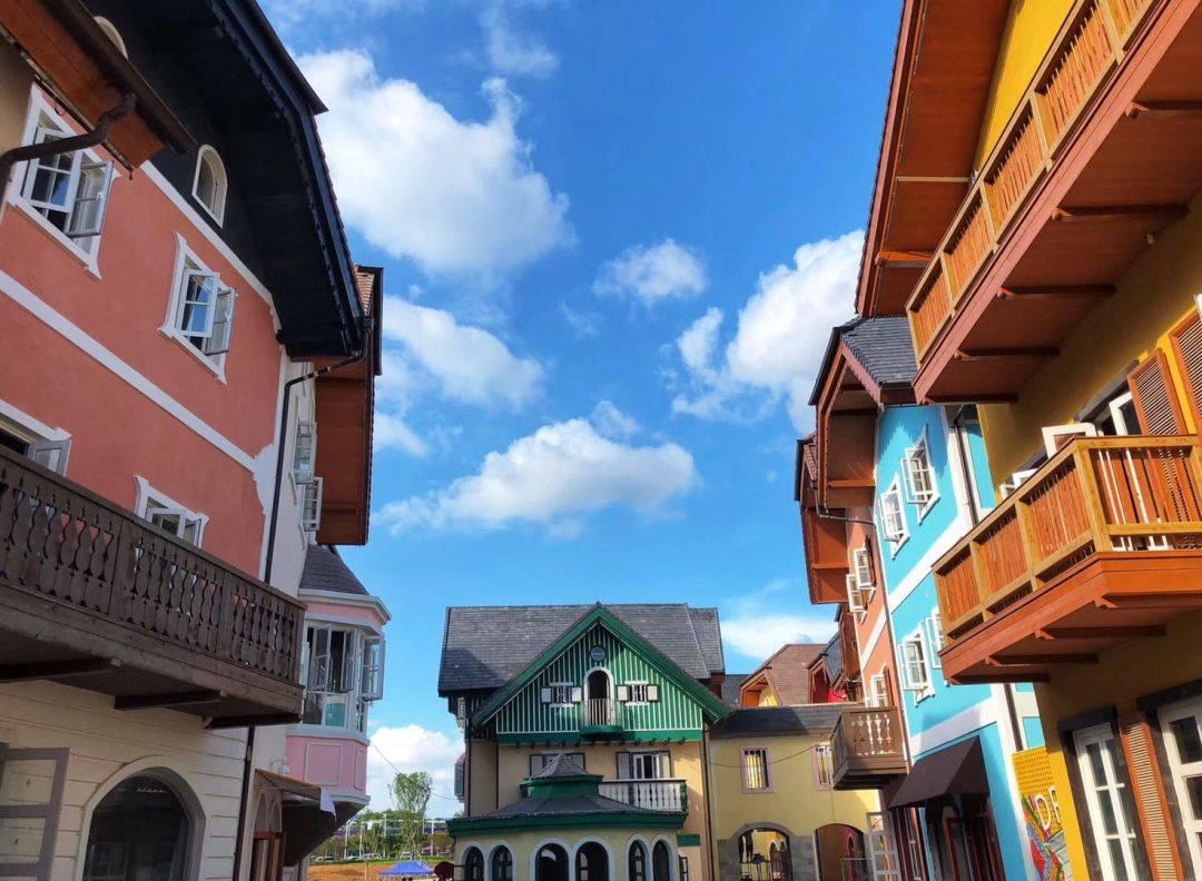 梦想小镇布局图片欣赏