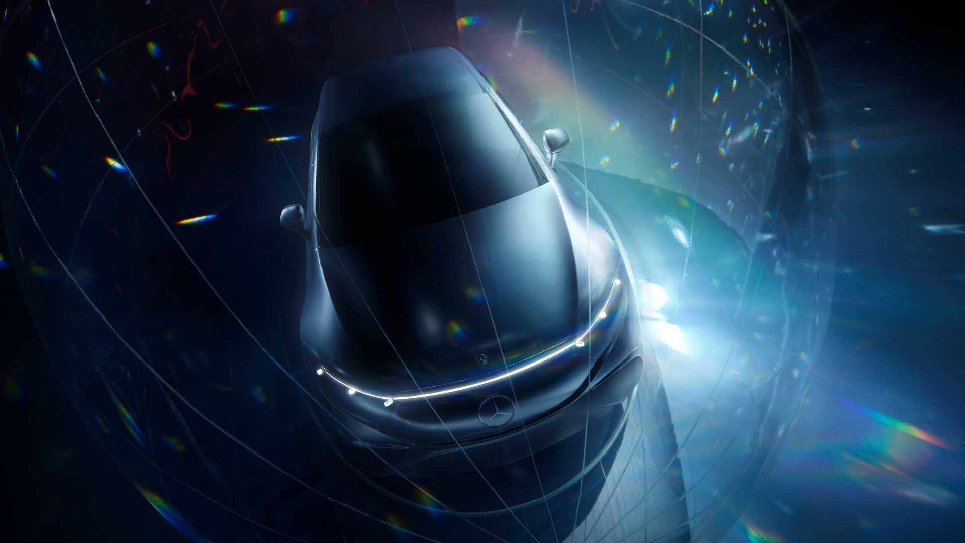 明年投产/新互动系统曝光奔驰新电动车预览图