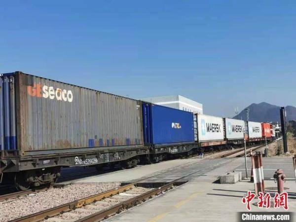 2020年浙江省班列投运1399列发运输量同比增长率129