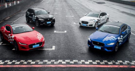 """速度感与捷豹明星车型一起感受赛道上""""豹式""""力量的美感"""