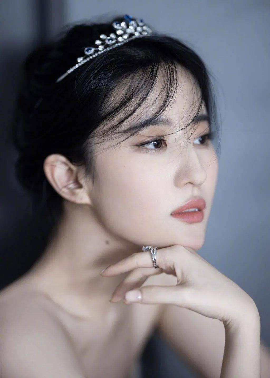 天鹅公主刘亦菲丨赏色