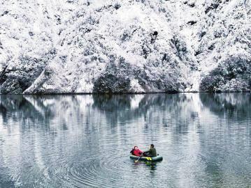 瑞雪兆丰年 成都等地喜迎 2021 第一场雪