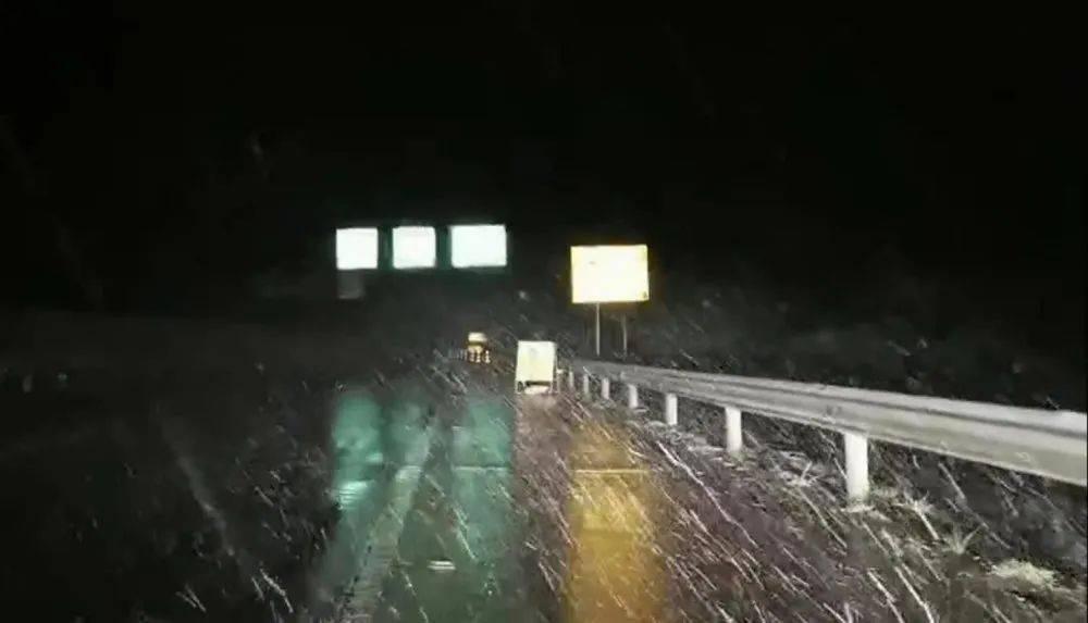 冷疯了~文山州多县下雪,砚山也下啦!!