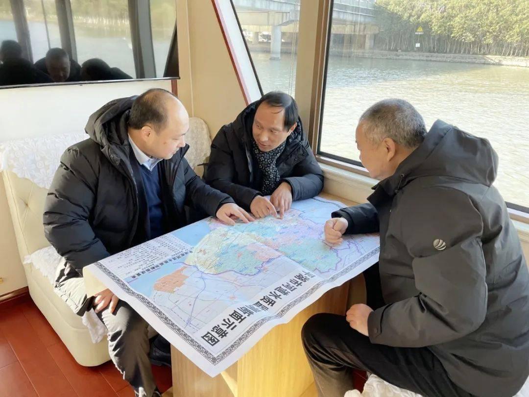 仲旭东市长开展黄姑塘、独山干河2021年第一次巡河活动