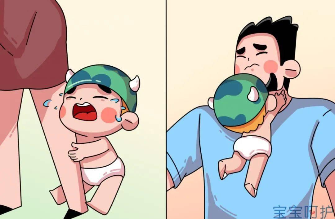为什么妈妈一离开,宝宝就哭?知道真相的老母亲泪目了  第1张