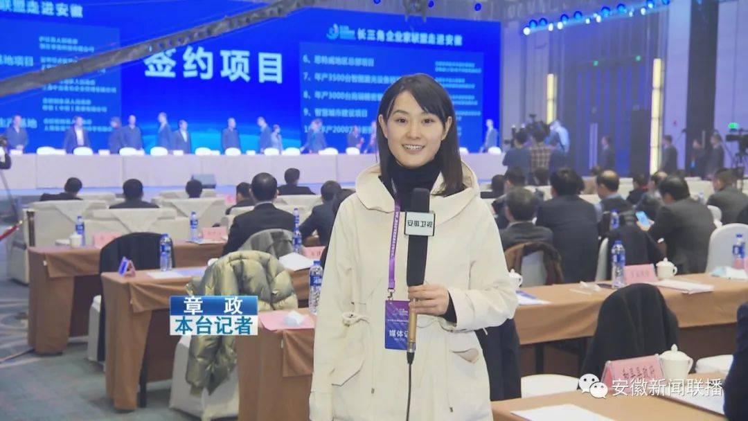 长三角企业家联盟走进安徽网页推介会签下301.3亿元大单