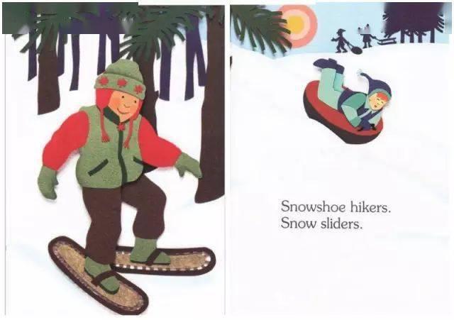 绘本故事:《I Am Snow》我是雪  第12张