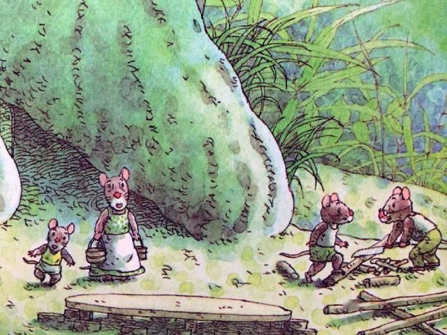 有声绘本:14只老鼠洗衣服