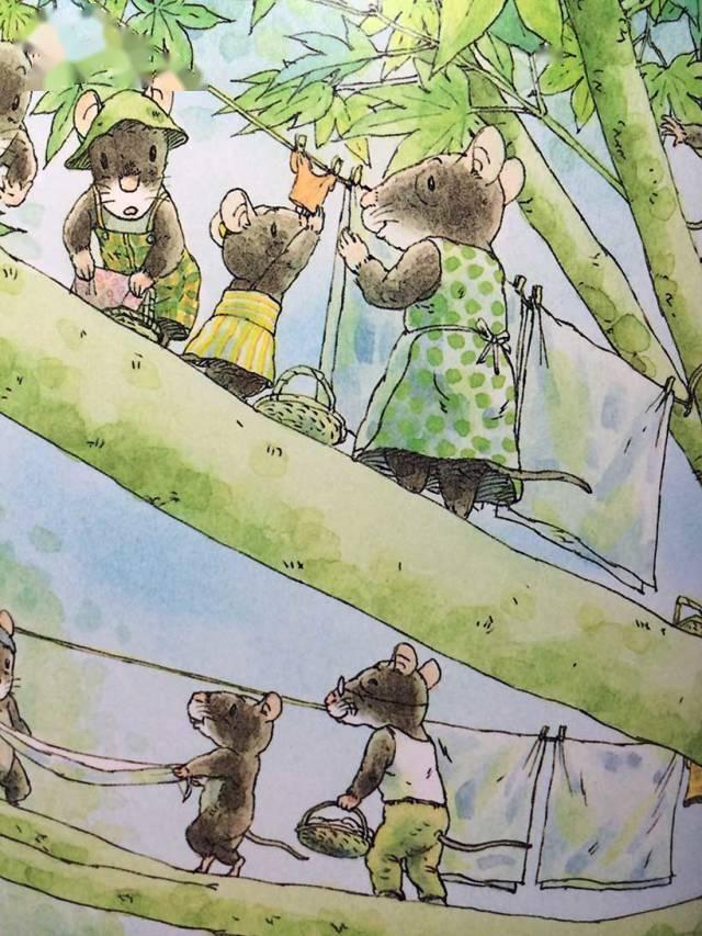 有声绘本:14只老鼠洗衣服  第13张