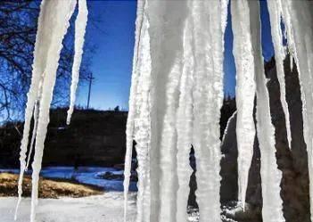 壮观!灵动!冬天专属!山西的冰瀑,绝美!  第2张