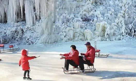 壮观!灵动!冬天专属!山西的冰瀑,绝美!  第7张