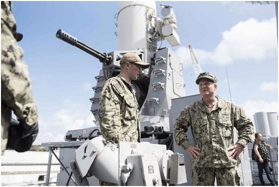 """美海军最高指挥官颁布未来10年""""领航计划"""",声称要保持对中俄海上优势"""