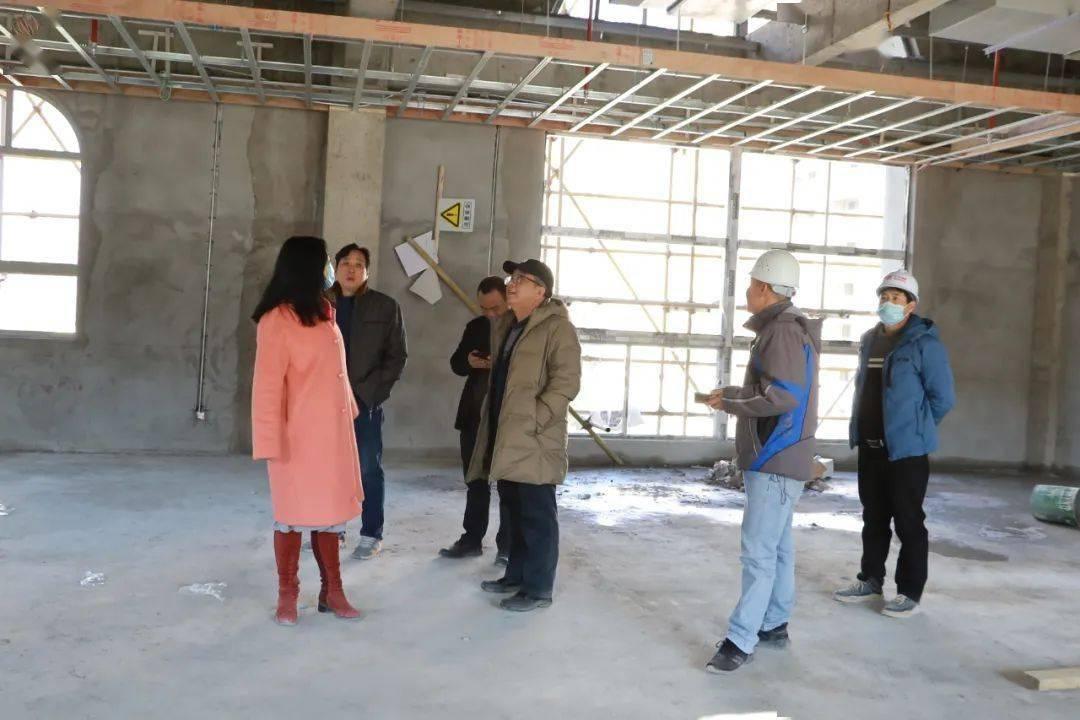 福州外语外贸学院执行校长黄建平考察学校附属幼儿园建设项目  第2张
