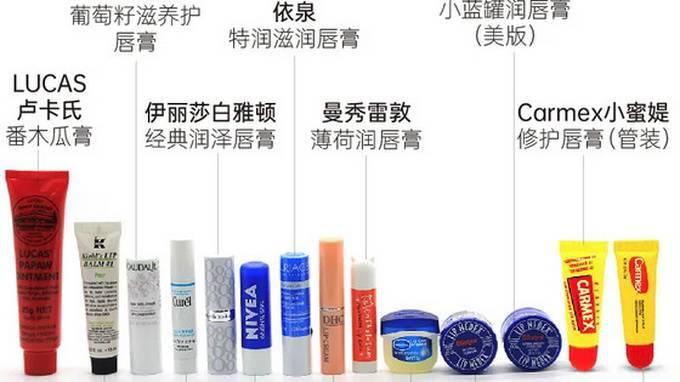 多款润唇膏测评:有产品检出影响生育能力成分!