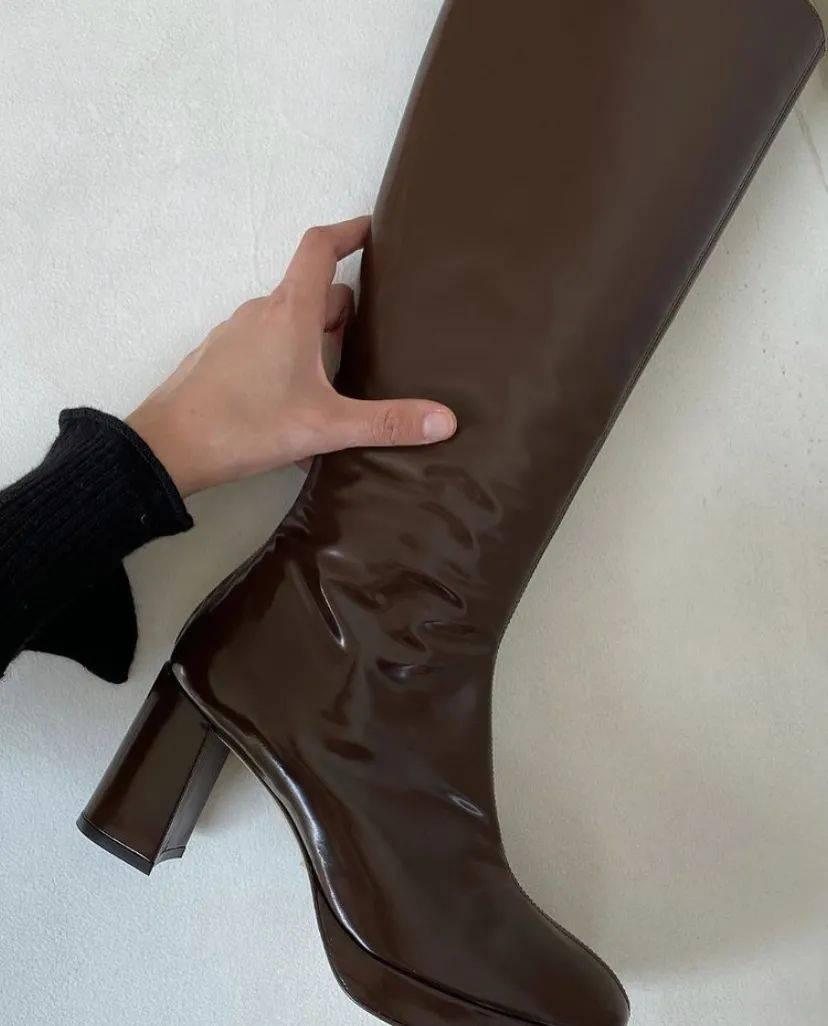 讲真,这双靴子把我的短腿拉长了10cm!